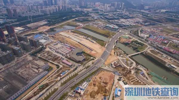 """前海""""深南大道""""梦海大道全线开通 双向6车道 总投资4.7亿!"""