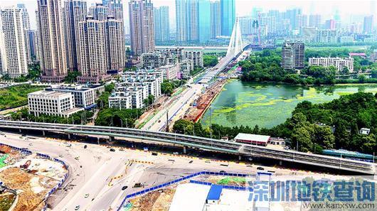 武汉琴台大道跨江城大道高架3日起正式通车