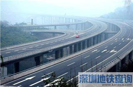 重庆包茂高速公路南彭至大观段施工管制一月