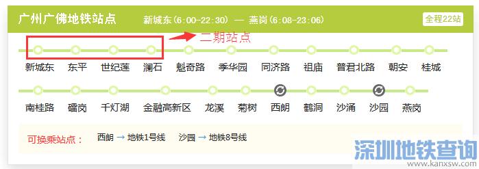 2017广佛地铁最新消息:地铁广佛线明年将全线通车