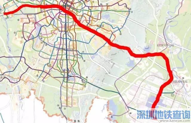 成都地铁13号线最新线路图、站点、通车时间