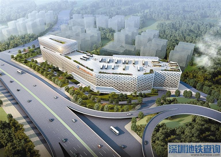 深圳为缓解公交停车难 金牛东路综合车场开建设429个停车位