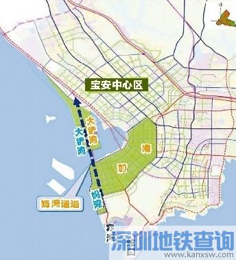 妈湾跨海通道(月亮湾大道-沿江高速) 计划2018年初动工