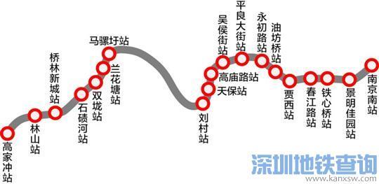 南京宁和城际换乘站点有哪些?可与南京地铁哪些线路换乘?
