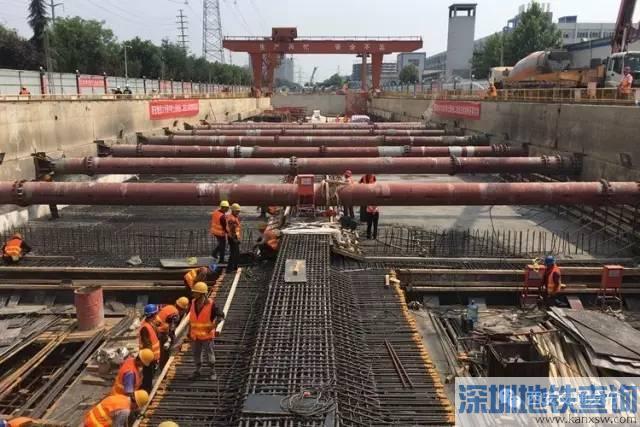西安地铁6号线一期2车站8月2日封顶 计划2020年底通车