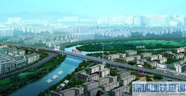 长安东宝河新安大桥预计2017年8月通车 以后去东莞只需要5分钟