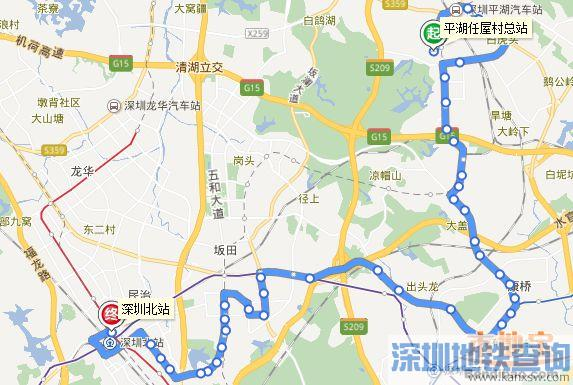 深圳公交24条线路8月12日起路调整 具体线路调整一览