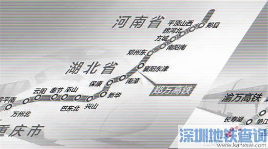 重庆将修这6条铁路 22个区县将受益