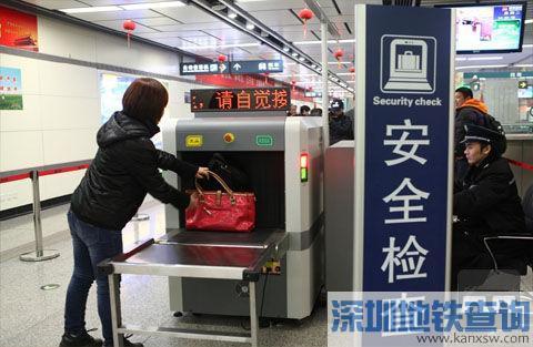 2017国庆节起广州地铁实施过机安检?假的时间未定!