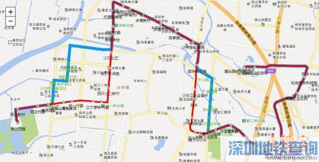 深圳公交B926线、B927线、B960线、B900线等29条线路站点、道路将调整