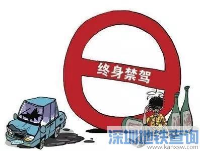 终生禁驾后仍开车上路会被拘留吗? 8月广东446人被终生禁驾