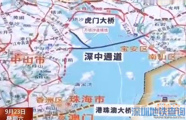 接拟建中山至开平高速公路和中山东部外环高速公路.   全长23.977公