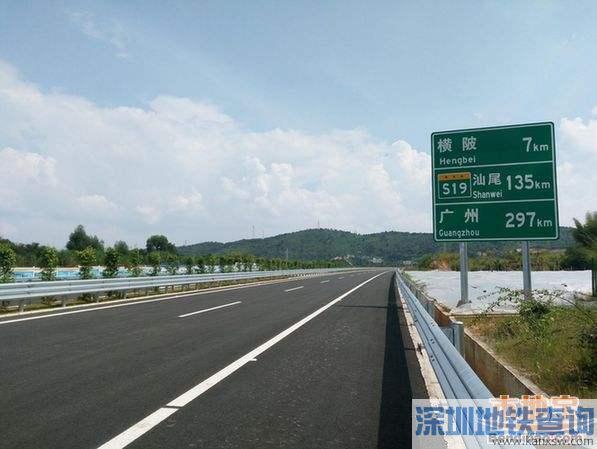 兴华高速2017年9月28日通车 广州到梅州车程缩短30分钟