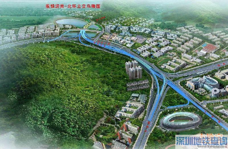 深圳坂银通道总体工程已完成51% 穿越梅林关要多条快捷通道