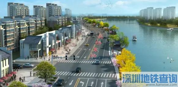 无锡吴桥东路改拓建工程详细规划方案线路图详情