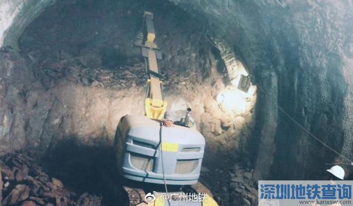 广州地铁11号线2018年1月最新进度 16座开始土建施工图片