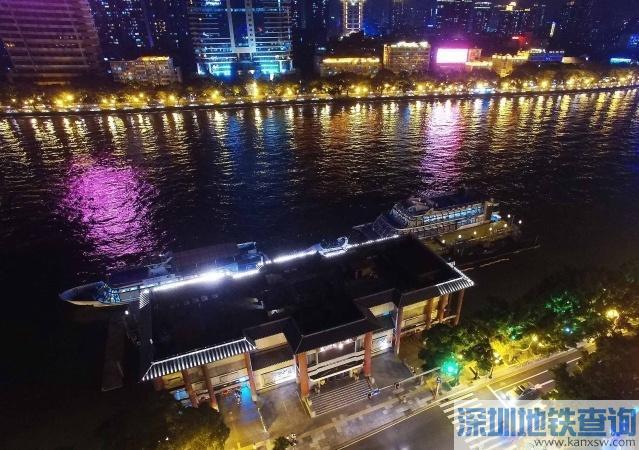 广州水巴码头2018年1月2日-31日改造 受影响水巴航线一览