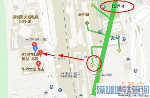 深圳侨社汽车站地址位置在哪 坐公交、地铁、自驾怎么去
