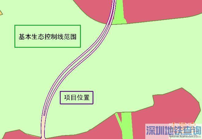 深圳地铁6号线支线翠湖-新明医院区间选址公示 附具体位置示意图
