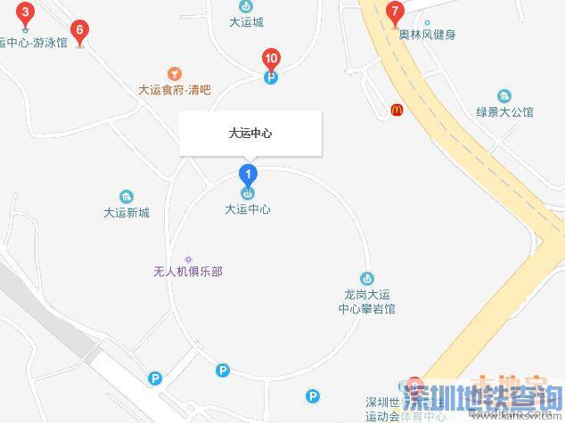 2018年NBA深圳赛10月8日19:30在大运中心举办 不提供私家车位