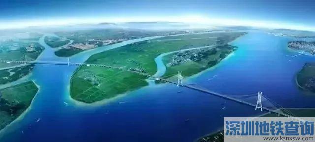 2018虎门二桥将设海鸥岛匝道收费站 预计明年上半年通车