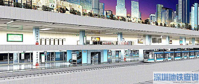 深圳地铁10号线双拥街站10月28日顺利封顶 系亚洲最长地铁单体车站