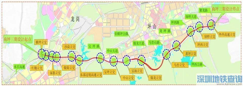 南坪快速3期坪山段路基近日接近完工 今年春节前全线具备通车条件