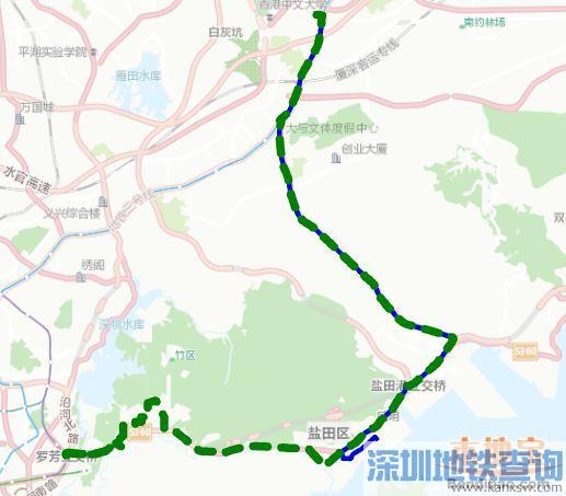 深圳公交拟增加这4条线路直达莲塘口岸线路 年底配合口岸开通