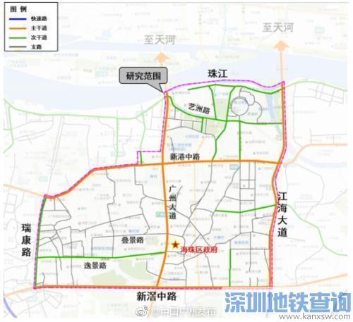 """2018地铁""""广州大道线""""有望成为现实(图)"""