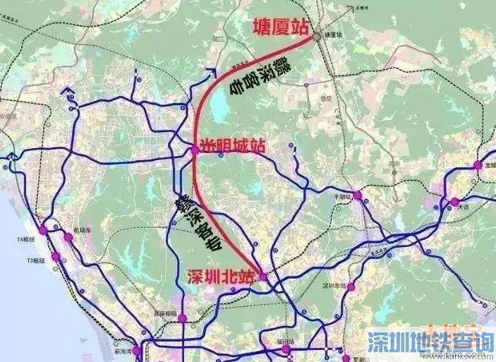 赣深高铁深圳段11月23日进入主体工程建设阶段 预计2021年通车