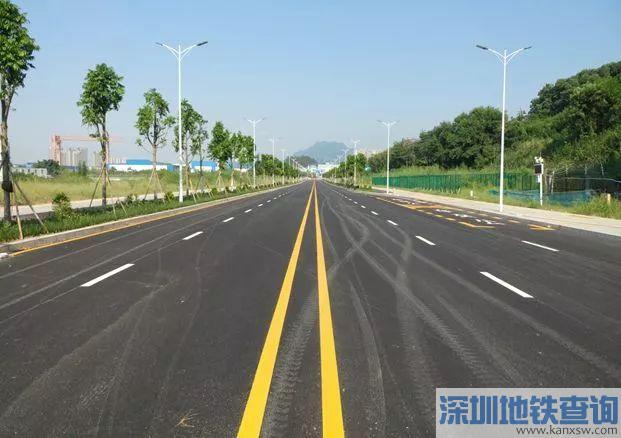 深圳坪山区荷康路完工通车 还有5条断头路即将建成打通