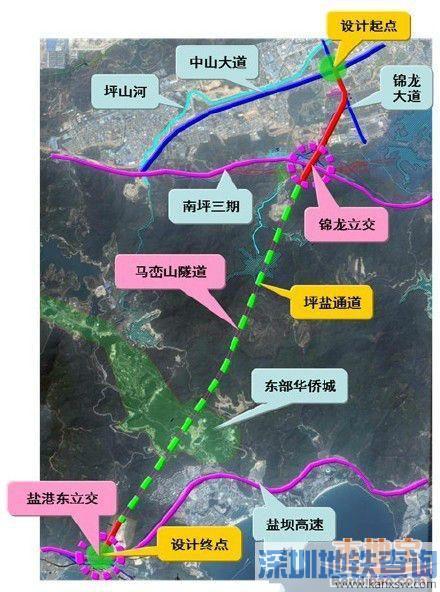 盐港东立交近日进入桩基浇灌阶段 深圳首座装配式桥梁