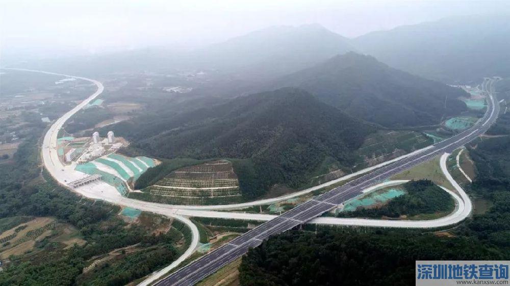 武深高速公路连平段拟12月底通车 深圳2小时直达河源