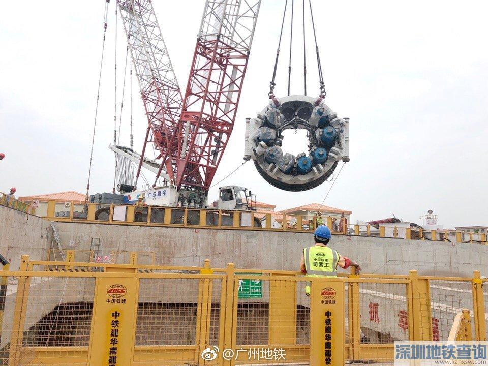 2018年12月广州地铁18号线最新进展 土建完成13%