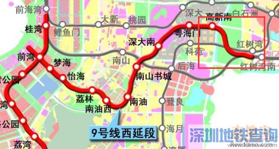 深圳地铁9号线西延线进展顺利 高新南站-红树湾南站盾构区间首个冻结法联络通道完工