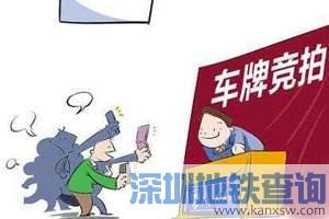 广州2018年12月竞拍车牌几号开始?