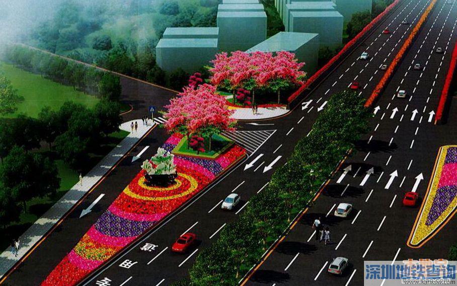 深圳龙岗布龙路三联铁路桥1月31日正式通车 前往龙华、福田、南山更方便