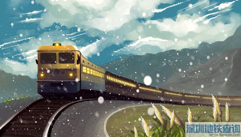 2018春运节前广铁集团计划开行304列夜间高铁