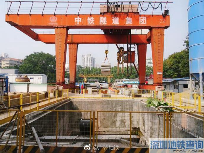广州地铁8号线北延段2018年2月最新进展:土建完成52%