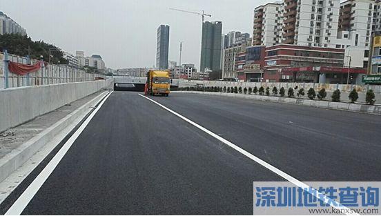 广州石化路隧道2018年2月10日通车 全长360米双向八车道