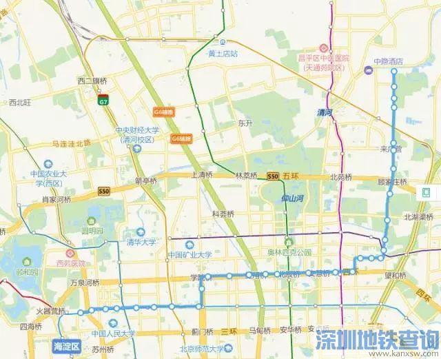 北京公交这16条线路2018年3月12日首车起将增设中途站位
