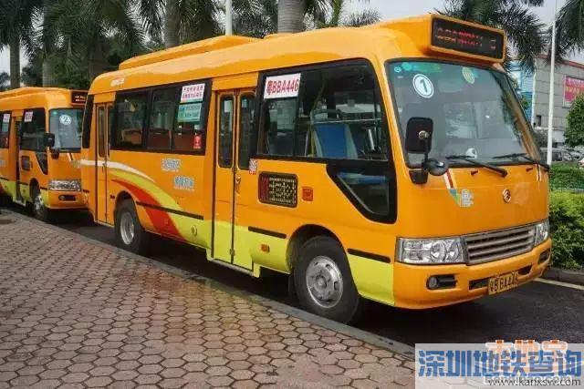 2018宝安区将开通10条社区微巴公交线路、30条屋村巴士线路