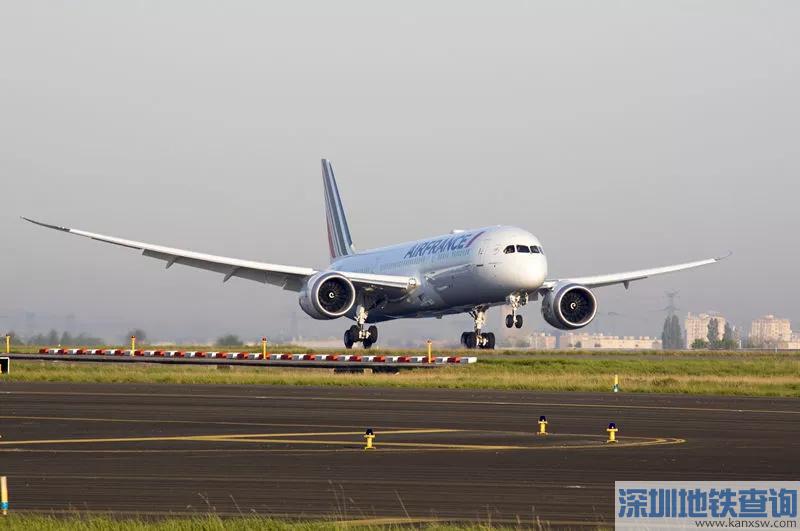 广州旅客2018年3月26日起可乘787-9梦想飞机前往巴黎