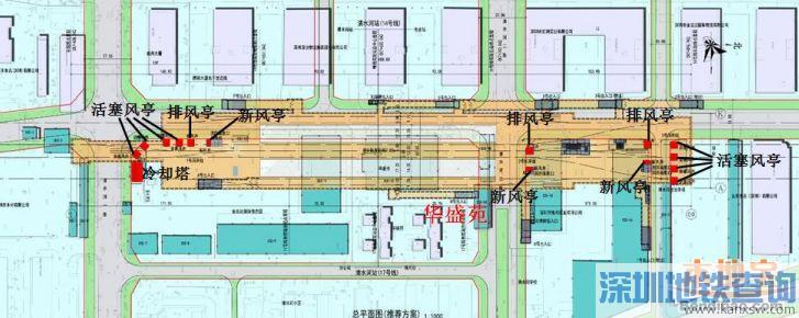 深圳地铁14号线各站点具体位置分布盘点(组图)