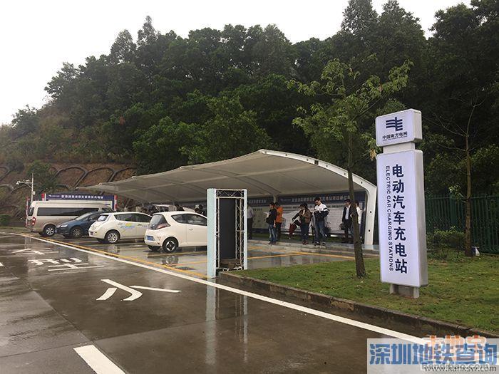 广东高速公路将建108.5对快充站 电动车也可以跑长途