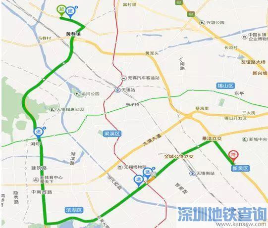 2018无锡定制公交线路汇总查询(最新路线+票价)