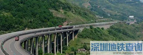 渝广高速2期5月10日早上9点开通 主城驾车最快1小时到广安
