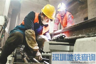 """沈阳地铁9号线最新进展:预计今年10月实现""""轨通"""""""