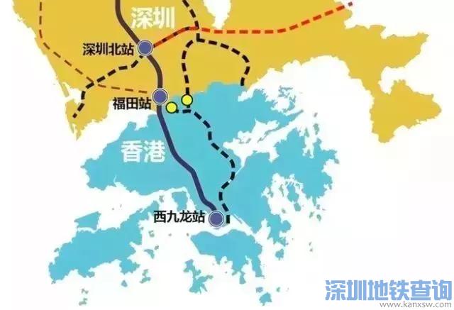 广东高铁最全规划来了 哪些高铁经过你的家乡?