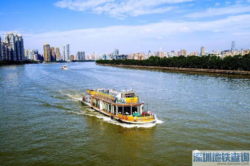 广州水上巴士S2航线2018年6月10日起时刻表调整一览